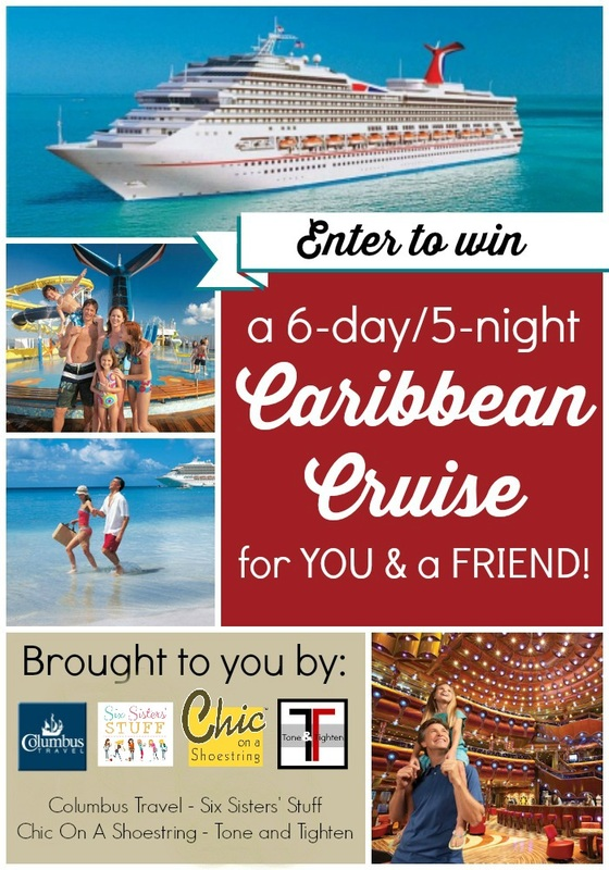 Win a Caribbean cruise Power of You Giveaway