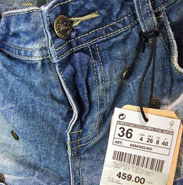 Expensive jeans